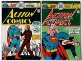 ACTION COMICS - Set of 2 - DC Comics