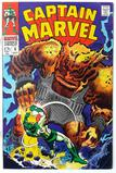 CAPTAIN MARVEL:  In the Path of Solam! - Marvel Comics