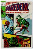 DAREDEVIL:  Daredevil Drops Out - Marvel Comics