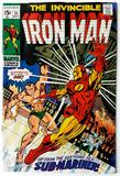 IRON MAN:  This Doomed Land--The Dying Sea! - Marvel Comics