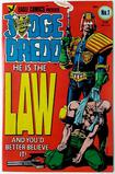 JUDGE DREDD:  He Is The Law! - First Issue - Eagle Comics