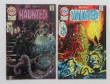 HAUNTED:  Set Of 2 - Charlton Comics