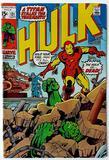 THE INCREDIBLE HULK:  A Titan Stalks the Tenements! - Marvel Comics