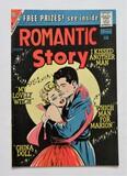 ROMANTIC STORY:  Consists Of Several Short Stories - Charlton Comics