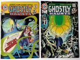 GHOSTLY HAUNTS - Set of 2 - Charlton Comics