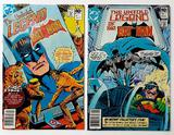 THE UNTOLD LEGEND OF THE BATMAN - The First Two Issues - DC Comics
