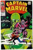 CAPTAIN MARVEL:  And Fear Shall Follow! - Marvel Comics