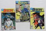DETECTIVE:  Set Of 3 - DC Comics