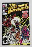 THE WEST COAST AVENGERS:  A 39 Page Epic - Marvel Comics