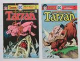 TARZAN:  Set Of 2 Comics - DC Comics