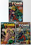 TOMB OF DARKNESS - Set of 3 - Marvel Comics