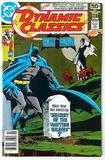 DYNAMIC CLASSICS Starring BATMAN:  The Secret of the Waiting Graves (First Issue) - DC Comics