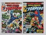 TORPEDO:  Set Of 2 - Marvel Comics