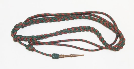 WWII Period Croix De Guerre Fourragere/Lanyard