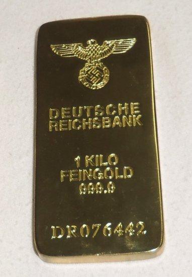 Replica WW2 Period Deutsche Reichsbank Gold Bar