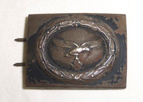 WW2 German Luftwaffe Steel Belt Buckle For Enlisted
