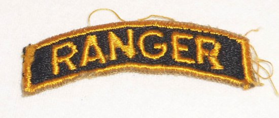 WWII US Army Ranger Tab