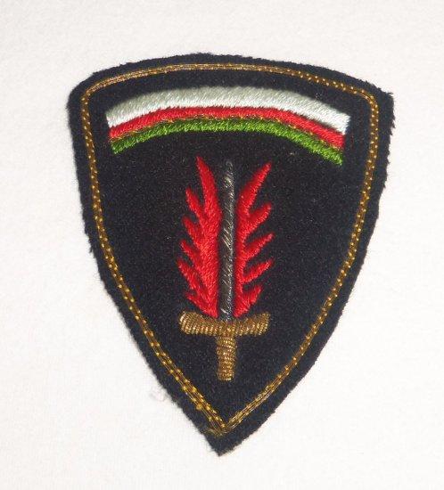 WWII SHAEF Command Patch Bullion Variation