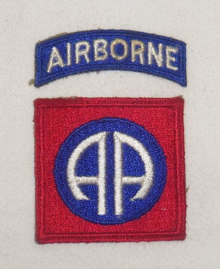 WWII 82nd Airborne Division Patch