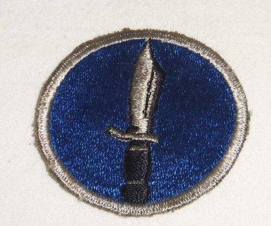 WWII Period KISKA Task Force Patch