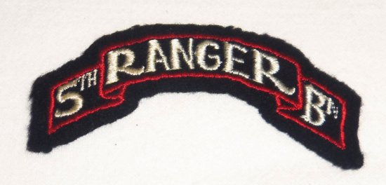 US Army 5th Ranger Battalion Tab