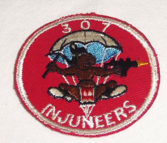 307th Airborne Engineers Patch
