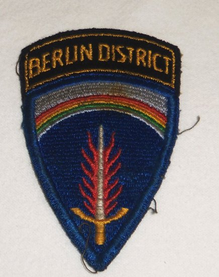 European Command Patch Berlin District-Theater Made