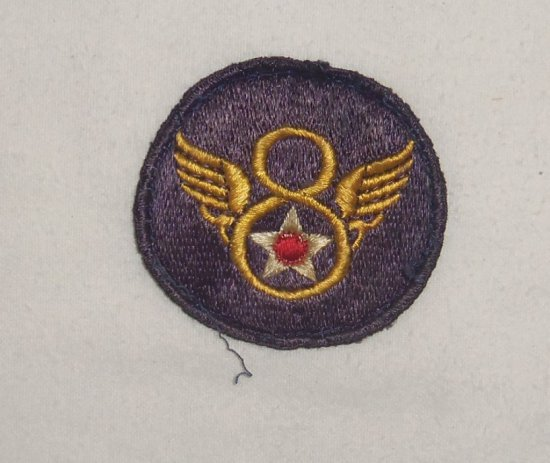 Eighth Army Air Corp Patch Theater Made