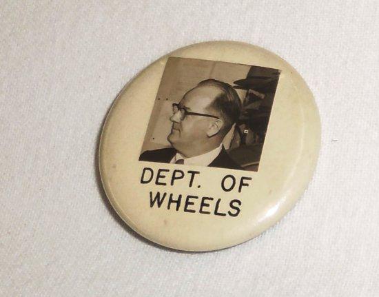 Department of Wheels Photo ID Badge