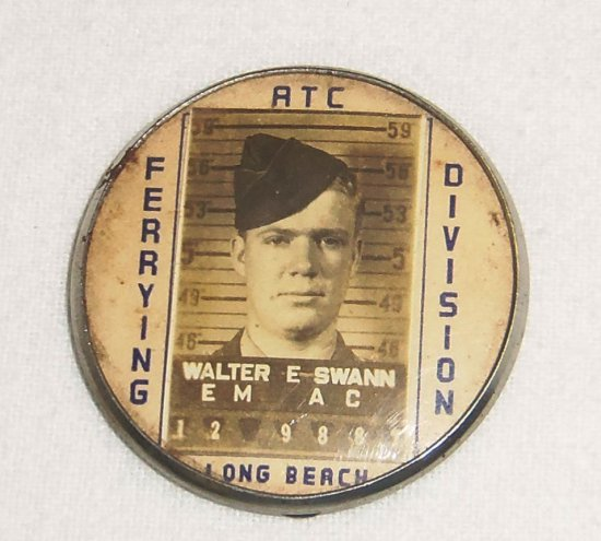 WWII Air Transport Command ID Badge