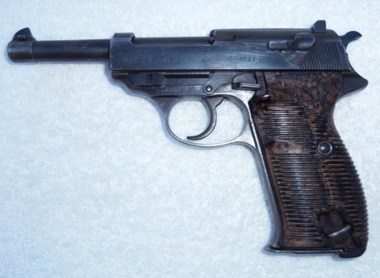 1943 Walther P-38 Matching Numbers with Clip