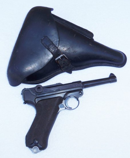 S/42-1937 Luger with Holster Matching Numbers