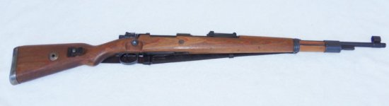 """Matching Number K-98 Rifle-""""dou"""" 1943 with Vet Bring back Papers"""
