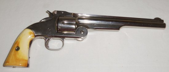 Rare Model 3/First Model Russian Smith and Wesson .44 cal. Russian Revolver W/Letter From S & W