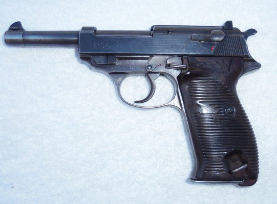 WWII Walther P-38 With Clip 1942
