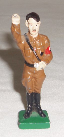 Adolf Hitler Metal Toy Soldier