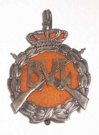 Dutch Bijzonder Vrijwillige Landstorm (B.V.L.) Champion Badge