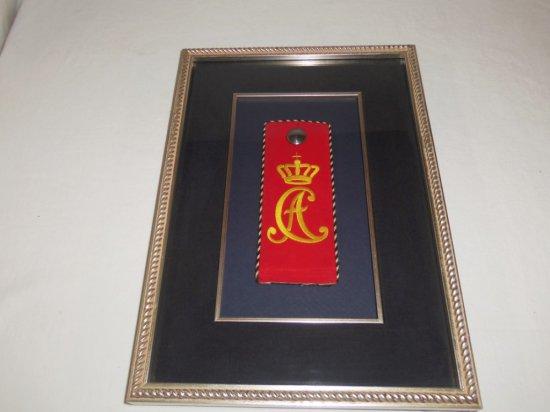 Imperial/Prussian German 94th Infantry Regiment Framed Shoulder Board