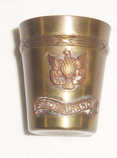 WWI/WWII Trench Art Shot Glass