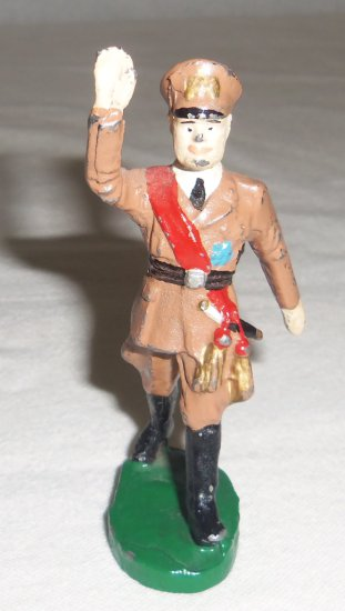 Elastolin WW2 Italian..? Officer Toy Soldier