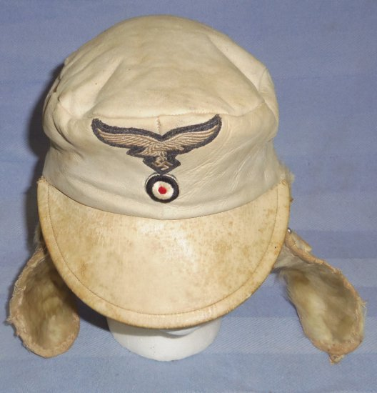 WWII Luftwaffe Cold Weather Cap