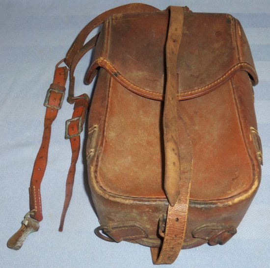 Large WWII German Cavalry/Motorcycle Dispatch Bag