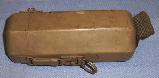 Rare WWII German Tropical f/41 Sniper Scope Can