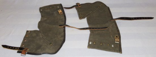 Pair of WWII German Soldier Leggings