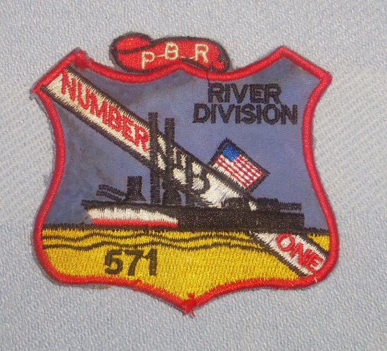 Vietnam War 571 PBR River Division Patch