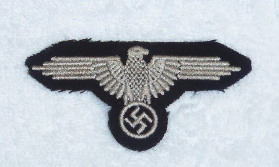 Waffen SS Arm Eagle for EM/NCO RZM