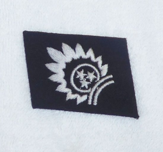 Waffen SS EM/NCO 15th Latvian Freiwilligen Div. Collar Tab