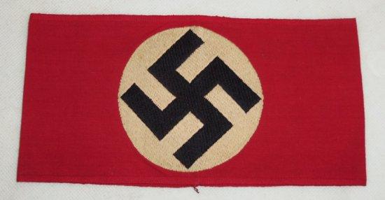 Scarce Variation NSDAP Arm Band - Bevo