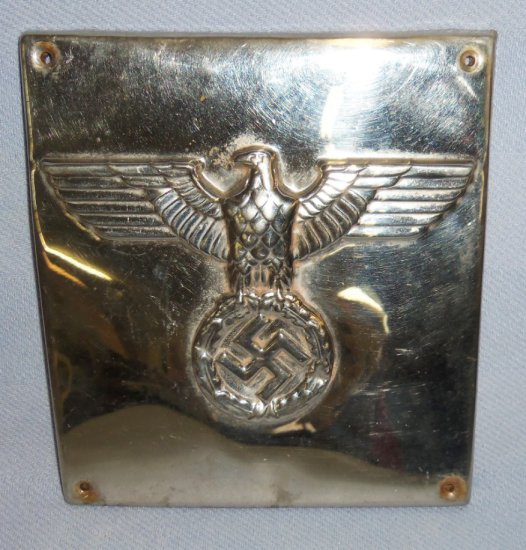 Unique WW2 Vet Bring Back Nazi Building Plaque