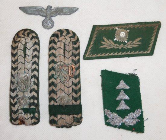5 pcs. Misc. WWII German Insignia